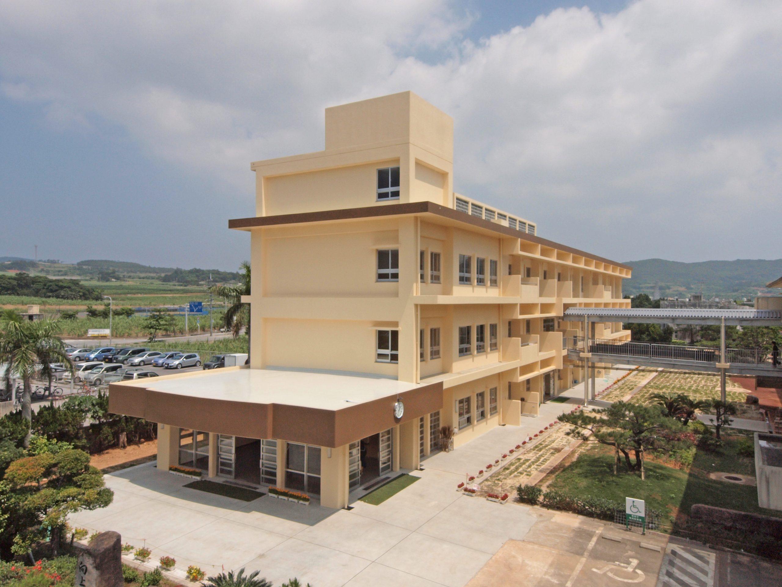 久米島高校校舎改築工事