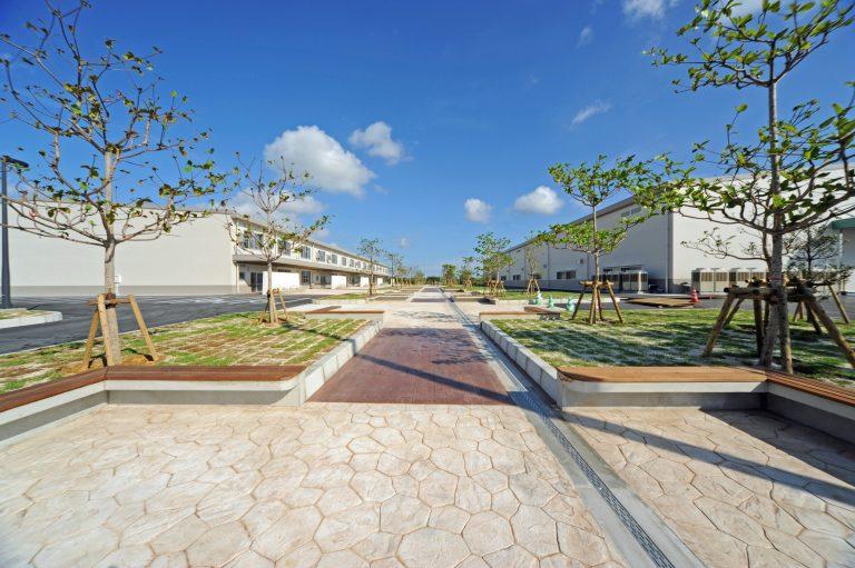 沖縄県特別自由貿易地域高度技術製造業賃貸工場新築工事