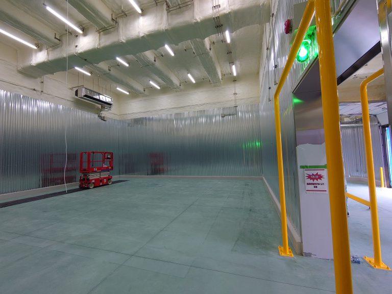 泊漁港内冷凍冷蔵施設設備工事