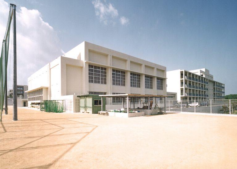 長嶺中学校屋内運動場建築工事