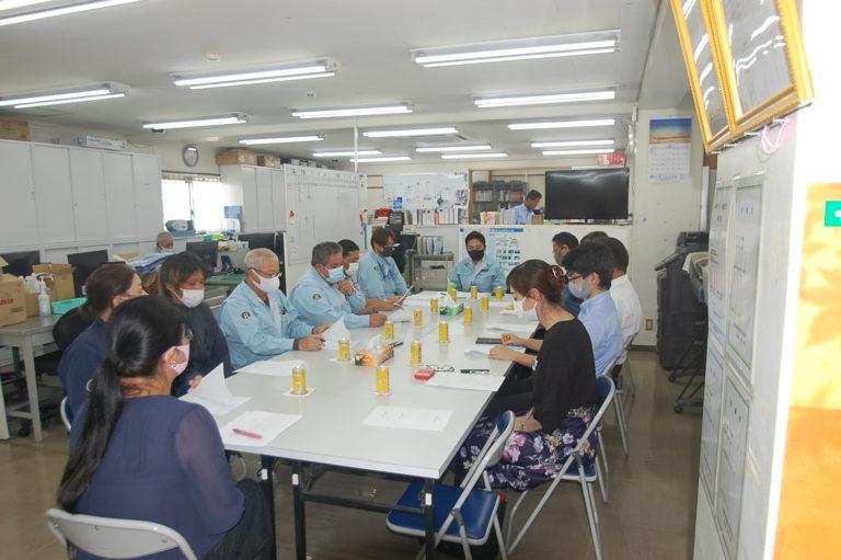 北谷浄水場薬品注入棟建築工事の運営会議(第1回)